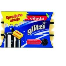 GOBICA GLITZI CRYSTAL RUMENA/ČRNA 9/1 (24škt)