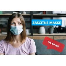 Uporaba zaščitne maske